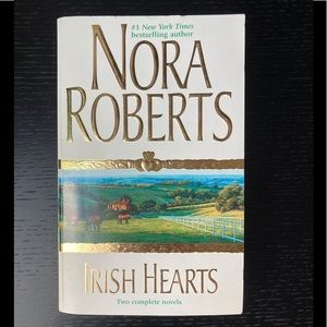 2/$10 Paperback Book - Irish Hearts